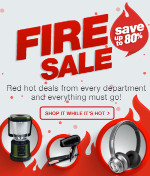 FIRE SALE | UP TO 80% OFF