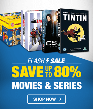 DVD FLASH SALE