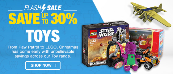 CHRISTMAS COVEREDTOYS FLASH SALE