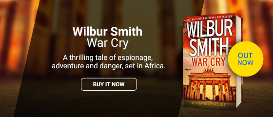 WAR CRY - WILBUR SMITH OUT NOW
