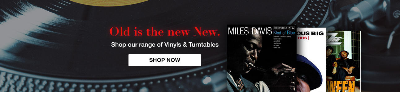 Music Store | Shop for CD, DVD, Blu-Ray & Vinyl online