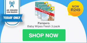 AS HEARD ON RADIO DAILY DEAL: Pampers Baby Wipes
