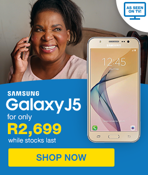 SAMSUNG J5 FOR R2,699