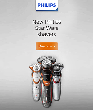 STAR WARS SHAVERS
