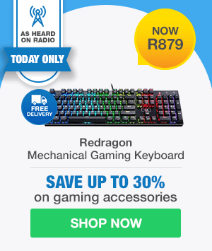 AS HEARD ON RADIO DAILY DEAL: Redragon Devarajas Mechanical Gaming Keyboard