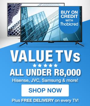 NPD: VALUE TVS UNDER R8K