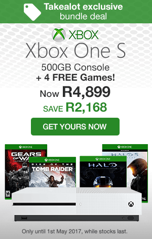 Xbox One S + game bundle