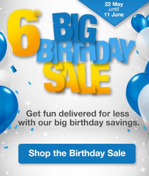 BIG BIRTHDAY: GENERIC SALE