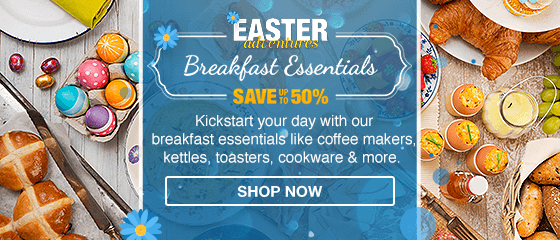 Breakfast Essentials Appliances & Homeware - PD Easter Campaign