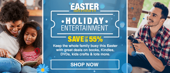 Books & Holiday Entertainment Easter Campaign