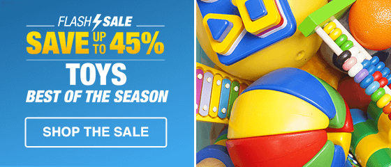 TOYS FLASH SALE: BEST OF SEASON - PD