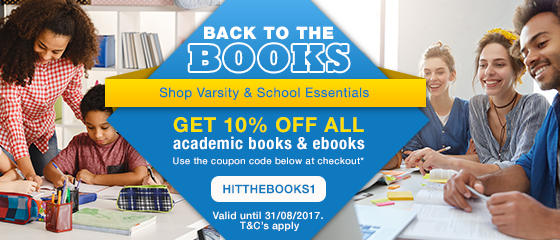 PROMO: BACK TO THE BOOKS