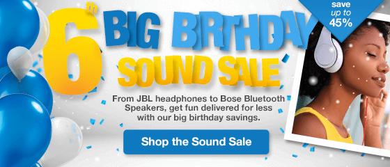 Big Birthday Sound sale