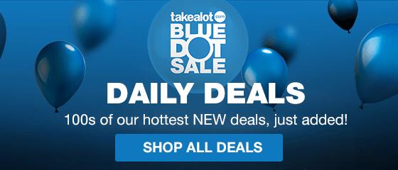 BLUE DOT SALE DAILY DEALS