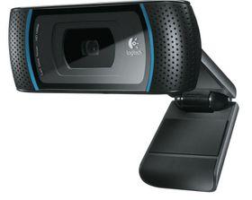 Logitech B910 HD Pro Webcam - Black