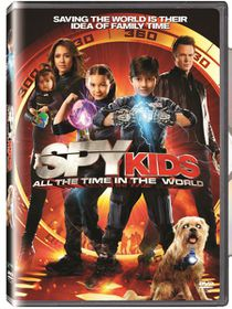 Spy Kids: All the Time in the World (2011)(DVD)
