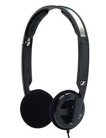 Sennheiser PX 100 Fold and Flip - Mini Open Wired Headphpones - Black