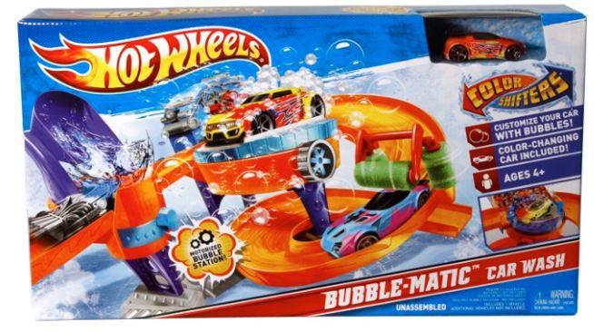Hot Wheels Color Shifter Car Wash Set