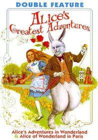 Alice's Greatest Adventures - (Region 1 Import DVD)