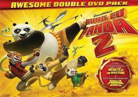 Kung Fu Panda 2/Kung Fu Panda:Secrets - (Region 1 Import DVD)