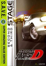 Initial D:Stage 2 & Stage 3 (Save) - (Region 1 Import DVD)