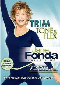 Jane Fonda Prime Time:Trim Tone & Fle - (Region 1 Import DVD)