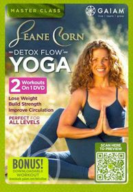 Seane Corn Detox Flow Yoga - (Region 1 Import DVD)