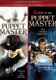 Puppet Master 5/Curse of Puppet Maste - (Region 1 Import DVD)