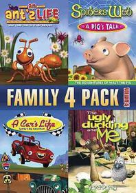Family 4 Pack Volume 5 - (Region 1 Import DVD)