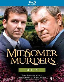 Midsomer Murders Set 19 - (Region A Import Blu-ray Disc)