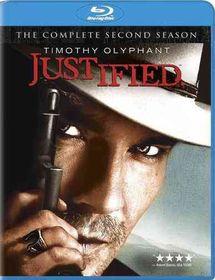 Justified Season Two - (Region A Import Blu-ray Disc)