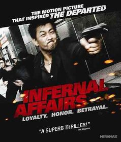 Infernal Affairs - (Region A Import Blu-ray Disc)