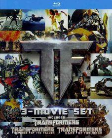Transformers Trilogy Gift Set - (Region A Import Blu-ray Disc)