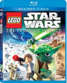 Star Wars Lego:Padawan Menace - (Region A Import Blu-ray Disc)