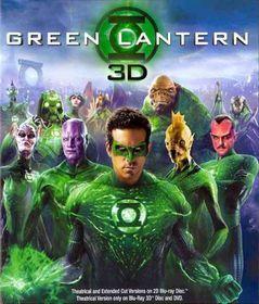 Green Lantern 3d - (Region A Import Blu-ray Disc)