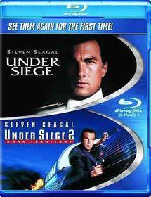 Under Siege/Under Siege 2 - (Region A Import Blu-ray Disc)