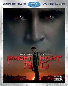 Fright Night 3d - (Region A Import Blu-ray Disc)