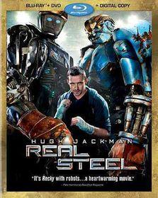 Real Steel - (Region A Import Blu-ray Disc)