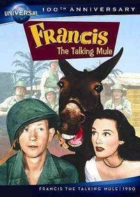 Francis the Talking Mule - (Region 1 Import DVD)