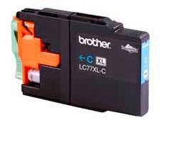 Brother - High Yield Cyan Ink Cartridge - LC77XLC