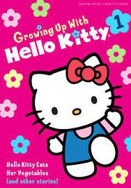 Hello Kitty Eats Her Vegetables - (Region 1 Import DVD)