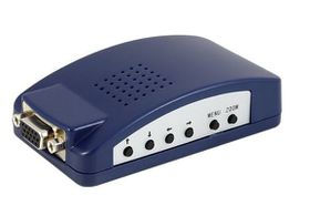 Lenkeng PC to TV Converter - Composite Video and VGA Loopthrough