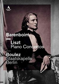 Liszt/Wagner:Piano Concertos - (Region 1 Import DVD)