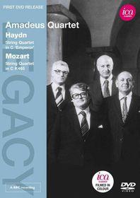 Haydn/Mozart:String Quartets - (Region 1 Import DVD)