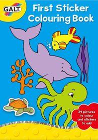 GALT - First Sticker Colouring Book