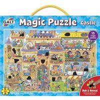 GALT - Magic Puzzle - Castle - 50 Pieces