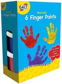 GALT - 6 Finger Paints- Washable