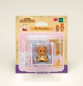 Sylvanian Family - EB Bear Baby with Swing