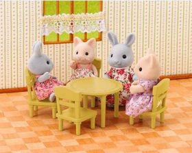 Sylvanian Family Dining Table Set