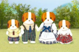 Sylvanian Family Chiffon Dog Family